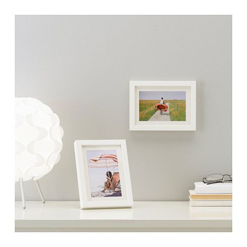 Zach & Daddy photo frame  IKEA LIMHALL frame PH-neutral mount; will not discolour the picture.