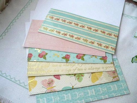 Laminated Cash Envelopes System Organizer for budget method or filing system. Snap closure so your contents won't fall out. Visit our Etsy shop to pick your color and pattern choice from our large selection of laminated envelopes at: www.marketsofsunshine.biz