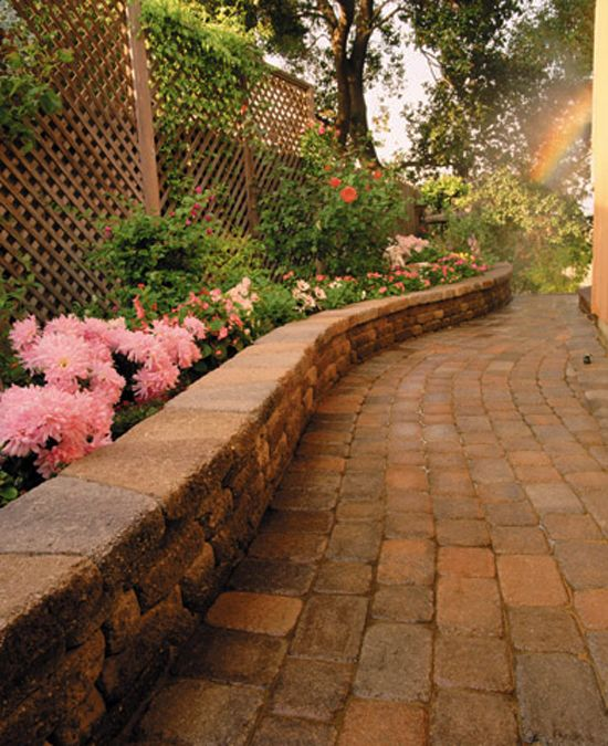 Easy Retaining Wall Ideas: 111 Best DIY Retaining Wall Images On Pinterest