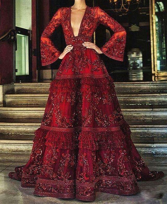 Zuhair Murad Stunning Gown ❤️✨