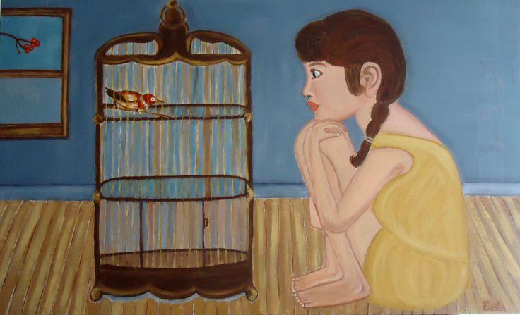 Namaste  (Oil on canvas)