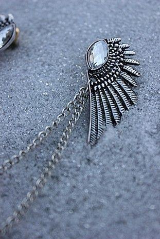 Bird Wings Broche - Hos MissRaspberry.se