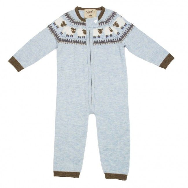 Faded Blue MeMini Lamb Overall