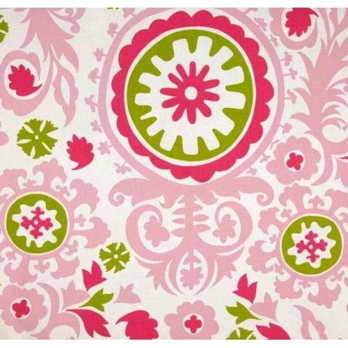 Suzani Candy Pink & Chartreuse by Premier Prints PP74