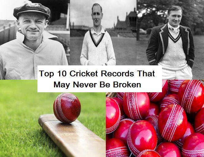 Top 10 Cricket Records That May Never Be Broken #cricket #top10 # newa