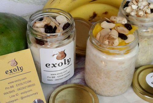 Sarapan Sehat & Bergizi dengan Overnight Oatmeals