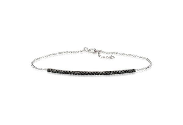 Bracelet Fucino with black zirconia