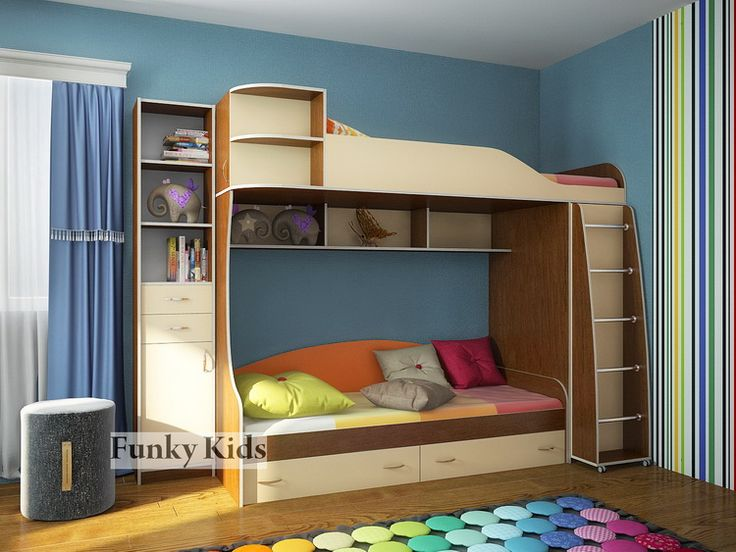 Двухъярусные кровати :: FM-K :: Двухъярусная кровать FM-K-12S