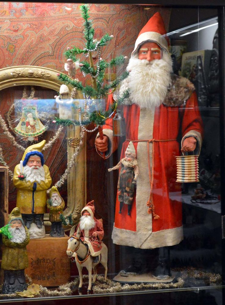1336 Best Antique Santa Claus Images On Pinterest