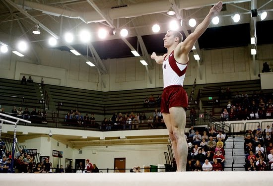 OU Gymnastics - Steven Legendre