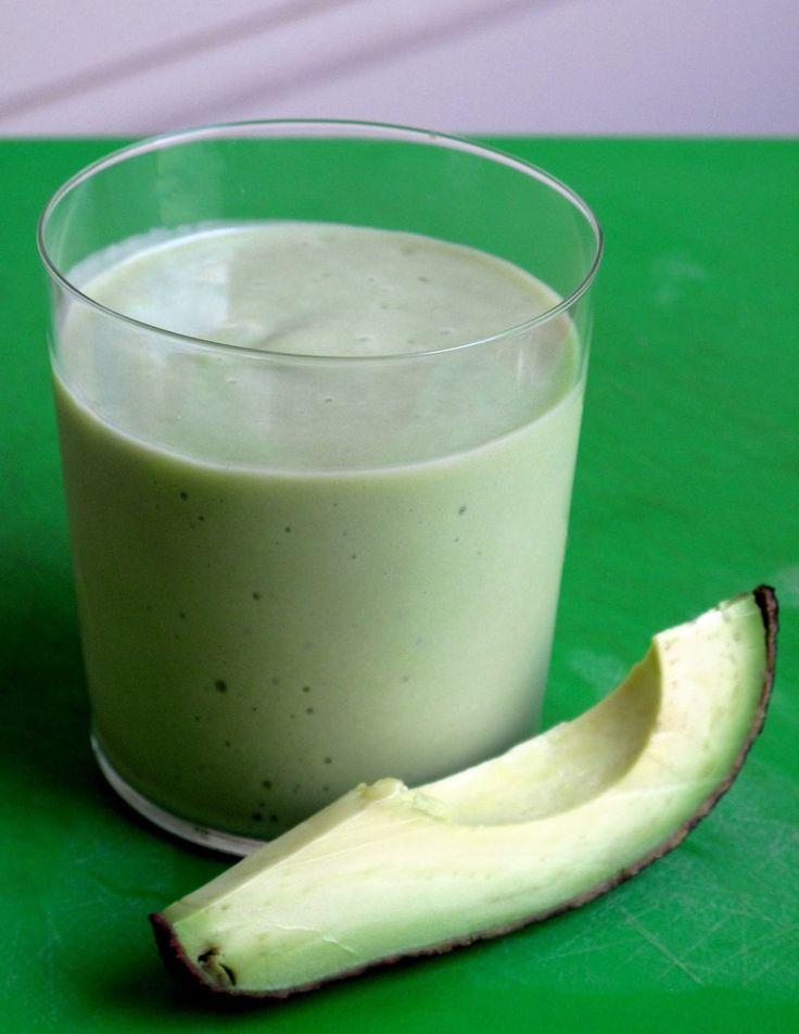 Healthy, Fast Avocado & Pear Smoothie Recipe | POPSUGAR Food