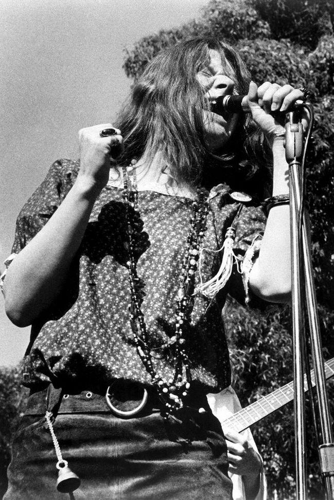 Janis Joplin (1943-1970), American rocksinger.