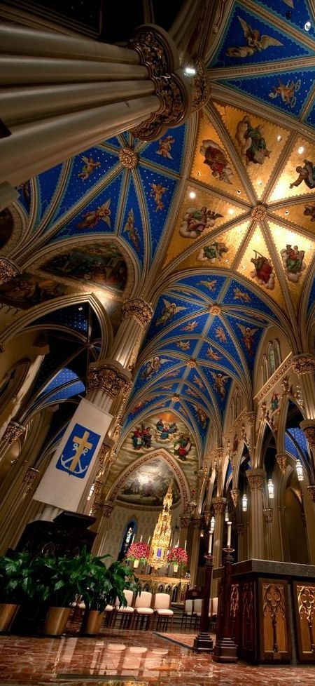 Basilica of the Sacred Heart at Notre Dame