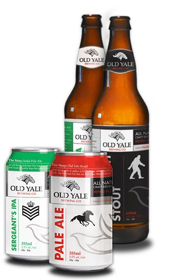 Chilliwack's very own award-winning Crafter Brewery Old Yale will be with us once again this year!