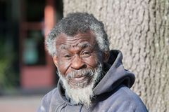 African American Homeless Man Stock Images - Image: 30492034