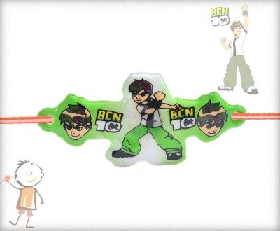 BEN10 Light Rakhi - send rakhi to usa