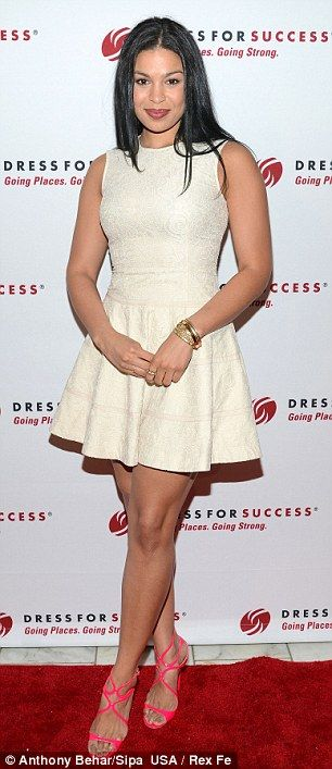 I adore this dress for the perfect curvy woman, Jordin Sparks