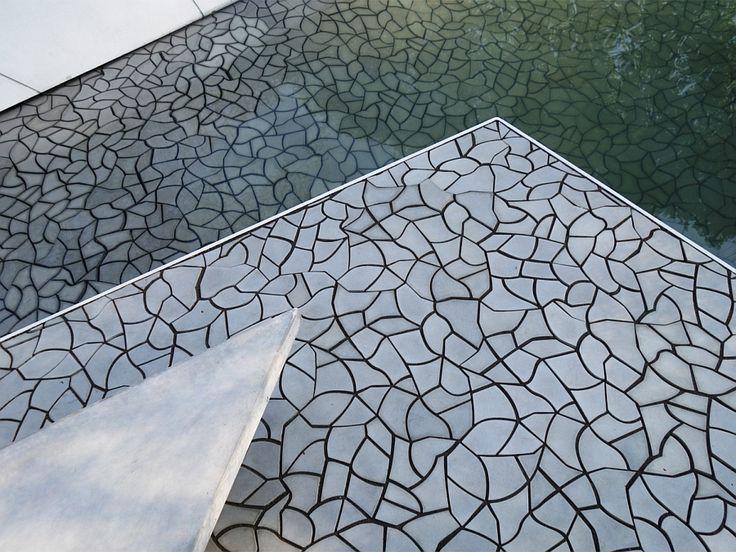 Cracked Earth Concrete Tiles For The Garden | Concrete Tiles, Water  Management And Concrete