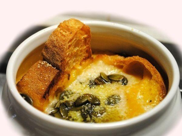Zuppa di zucca gratinata, Ricetta da Lara137 - Petitchef
