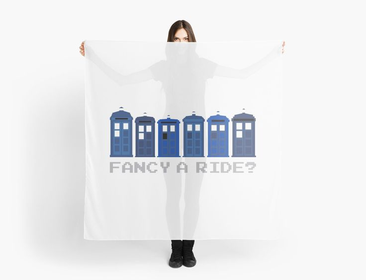 Fancy a ride? by nath-gary #Scarf #Clothes #DoctorWho #TARDIS #TheDoctor #Whovian #Whovians #Clothes #Geek #Nerd #Brithish #SciFi #GeekFashion #GeekClothes