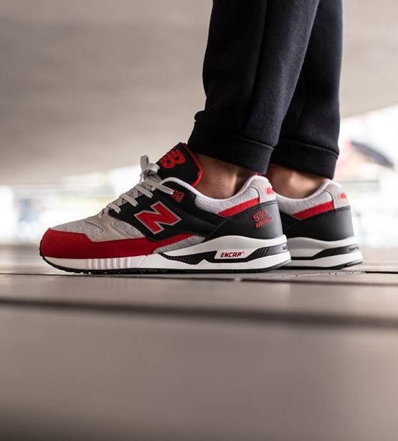 New Balance M530VRB: Red/Black