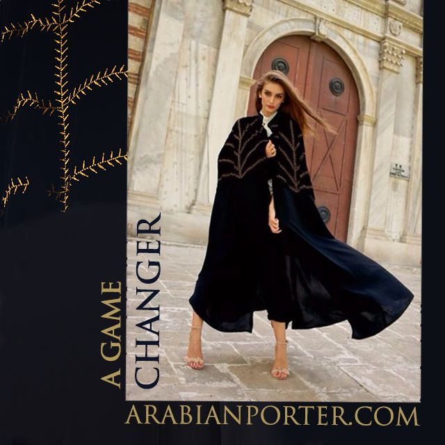 Shop this now at Arabianporter.com #online #shop based out of #Qatar #doha #worldwide #shipping #Abayas #Dubai #Sharjah #Abudhabi #Kuwait #Bahrain #Saudiarabia #Oman