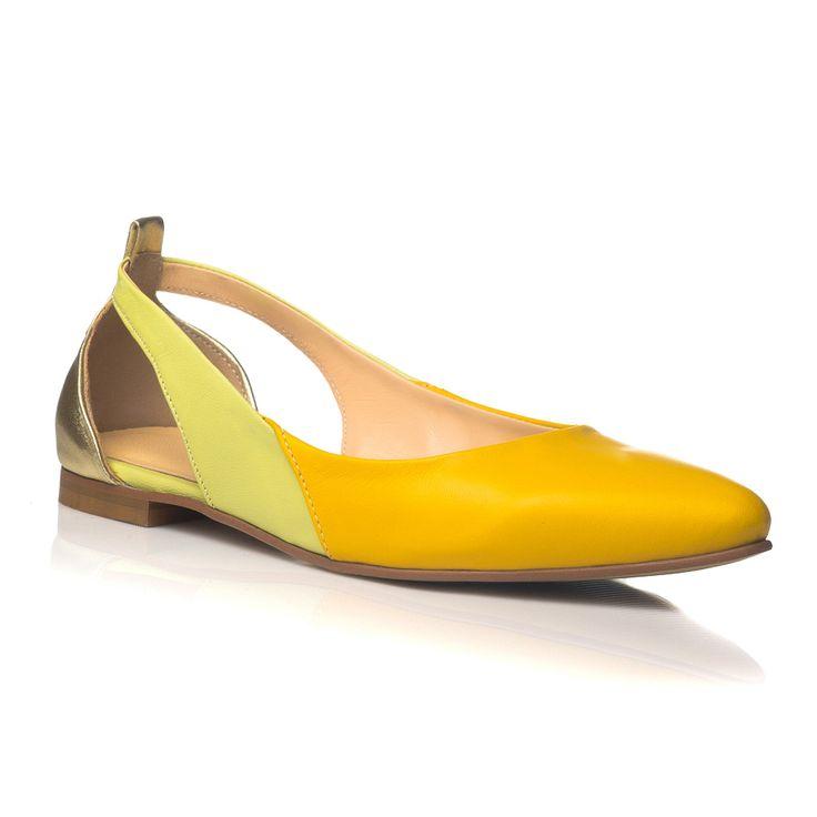 DARE TO WEAR >> Balerini Yellow Mix
