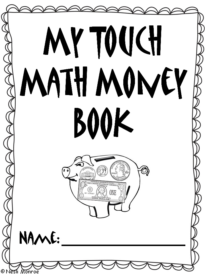 Worksheets Touch Math Free Worksheets 25 best ideas about touch math on pinterest preschool number use this money book to teach your students how count check