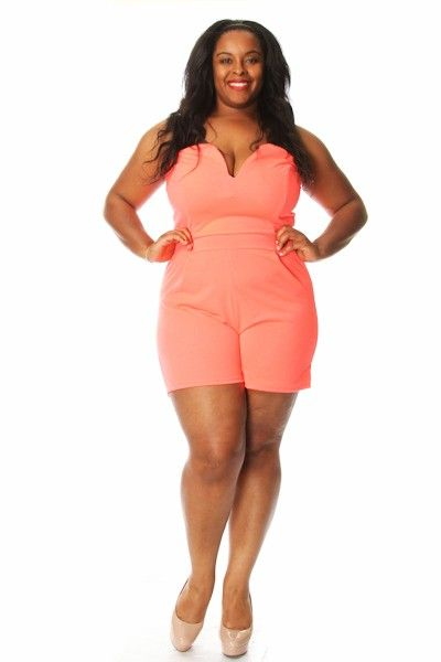 43 best images about Plus size jumpsuits and rompers on Pinterest ...