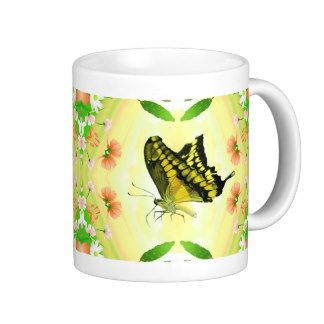 Summer Lover Butterfly coffee Mug