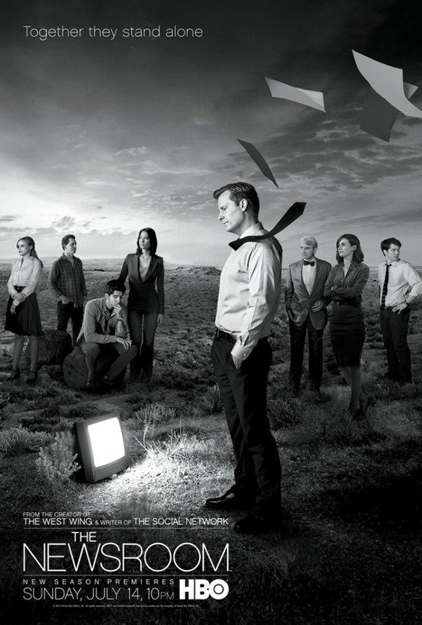 'The Newsroom' season 2 bonanza: New character posters, plot scoop