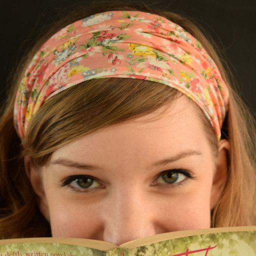 Pretty in Peach Headband #Colorize #ColorizeFashion