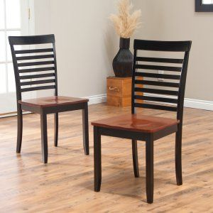 Black Dining Chairs on Hayneedle - Kitchen Chairs Black
