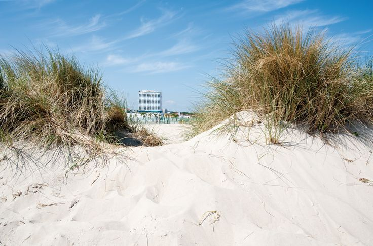 Hotel NEPTUN direkt am Strand von Warnemünde.