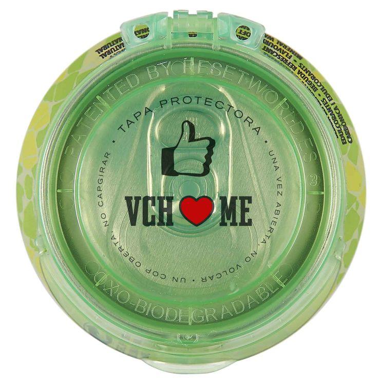 Tapa de la nueva lata de VCH Plus Lima Limón