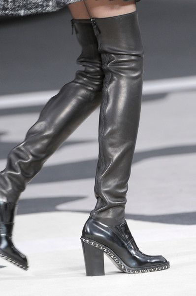 chanel fall winter 2013 boots - Google Search