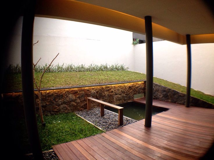 backyard at sriwedari project, cibubur. #2015 #j+a
