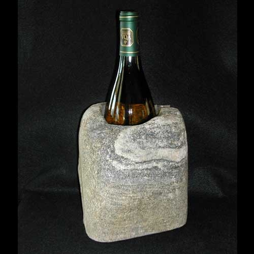 wine cooler natural stone