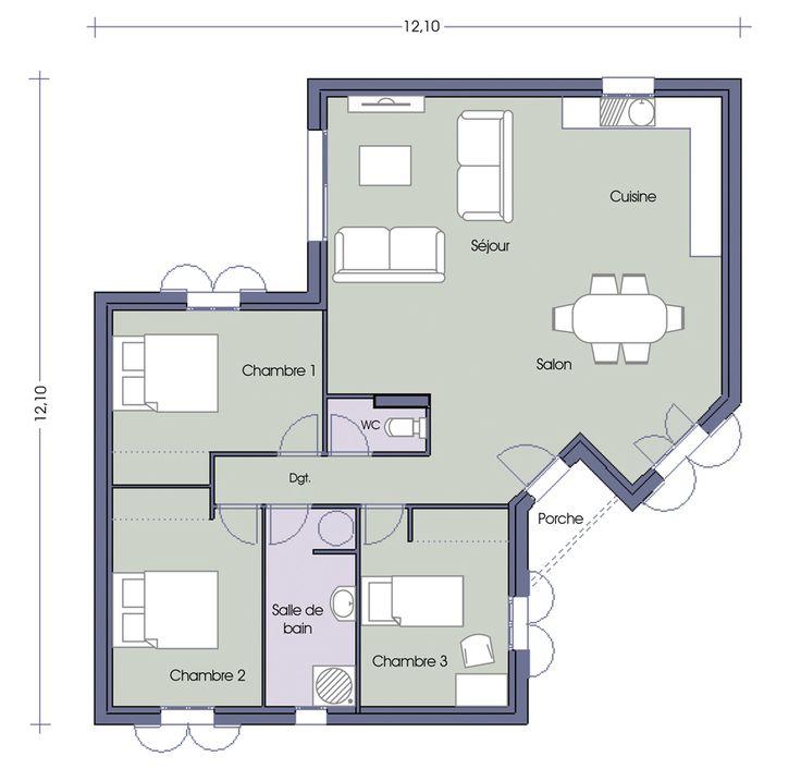 Les 64 meilleures images propos de plan maison sur pinterest plans de mai - Livre de plan de maison ...