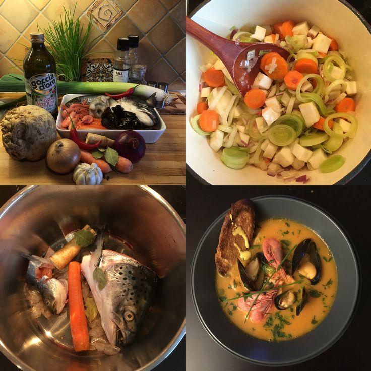 Bouillabaisse  #boillabaise  #soup  #mykitchen