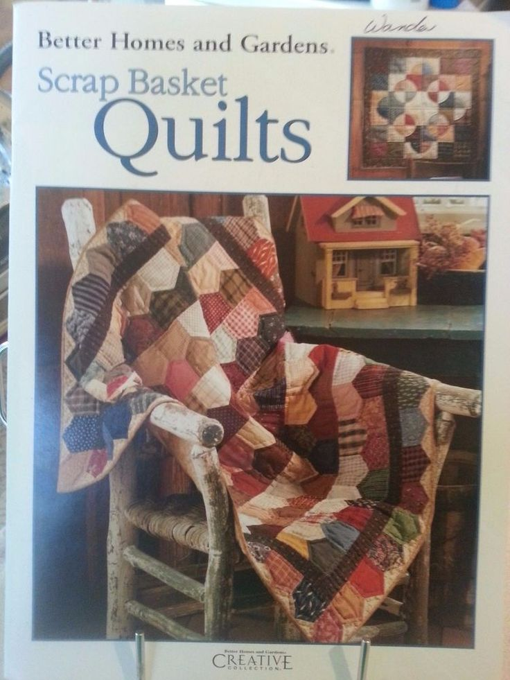 Better Holmes and Gardens Scrap Basket Quilts