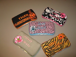Covered diaper wipe cases.: Wipes Case