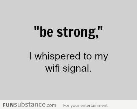 Wifi.  Yes.
