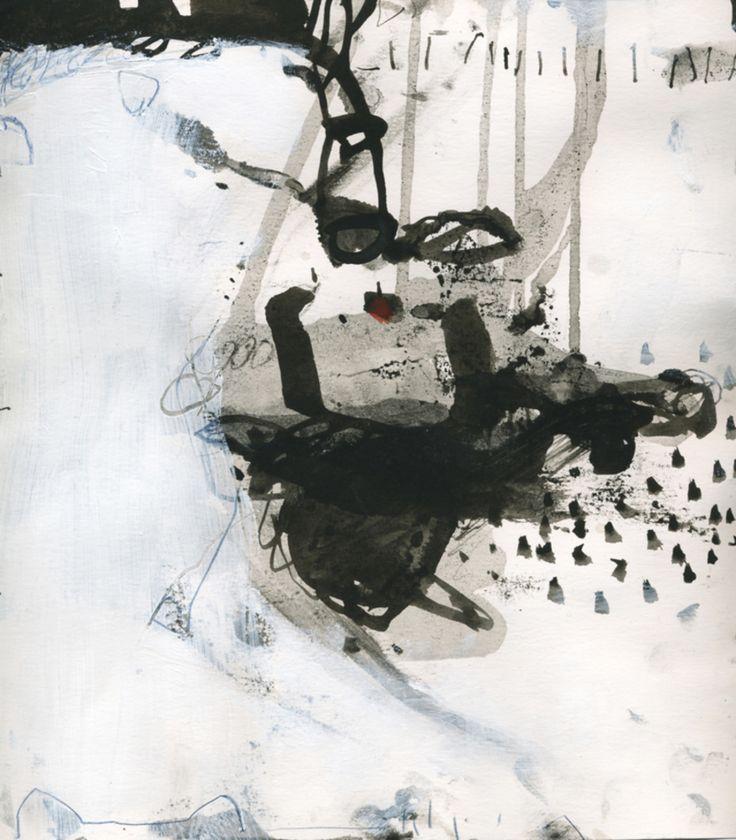 Ali Rashid, ink on paper, 2010