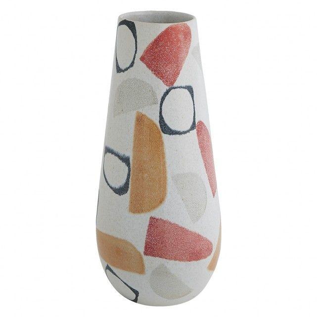 MATESE Multi-coloured ceramic vase