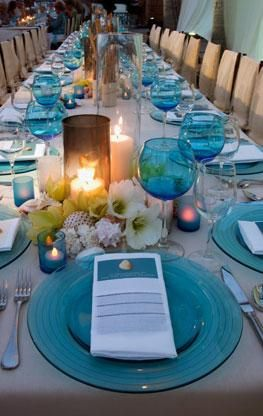 Colin Cowie-- this would be cool for a beach wedding reception or rehearsal dinner