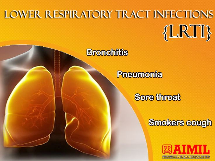 #LowerRespiratoryTractInfection (LRTI) is #infection below the level of the #larynx and may be taken to include #bronchiolitis, #bronchitis and #pneumonia.
