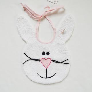 #baby, #bib, #rabbit, #italy, #souspeu