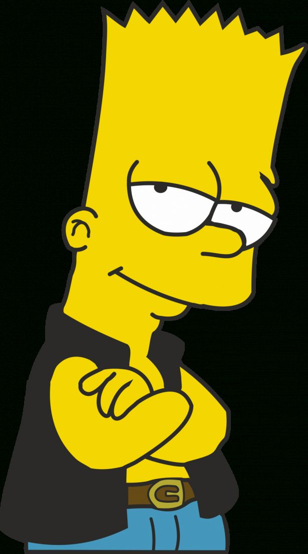 15 Bart Simpson Icon Bart Simpson Bart Simpson Drawing Bart