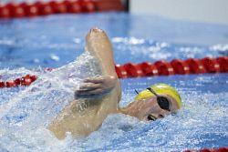 TWA-0051093 © WestPix 2016 Rio Olympics. Rio de Janeiro, Brazil. Swimming day 8. Australia's Mack Horton after the Men's 1500m freestyle. Picture: Simon Santi The West Australian